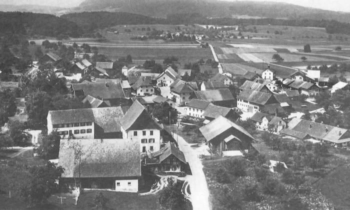 Wittenwil - Luftaufnahme 1960