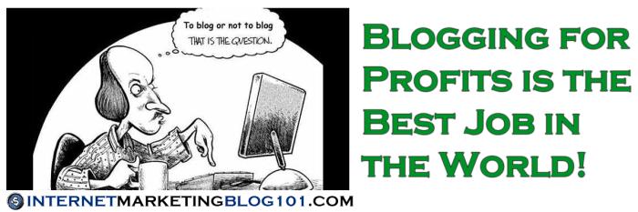 Ведение блога для получения прибыли - лучшая работа в мире!