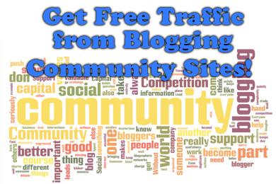 Ottieni traffico gratuito sul tuo blog dai siti della community di blog!
