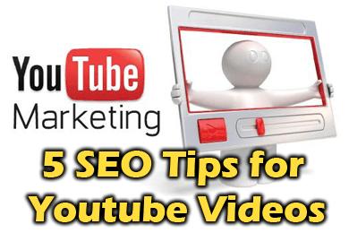 5 SEO Tips for Youtube Videos