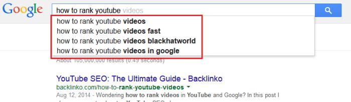 YouTube Marketing Tips - Google Keyword Research
