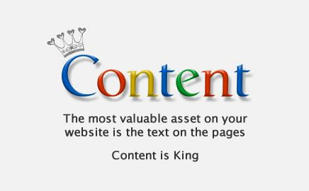 Quality Content is King Online!