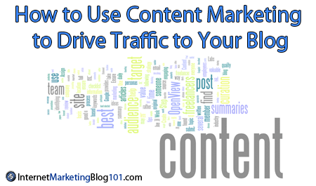 How to Use Content Marketing to Drive Traffic to Your Blog