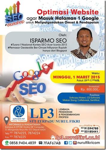 Workshop SEO Depok 1 Maret 2015