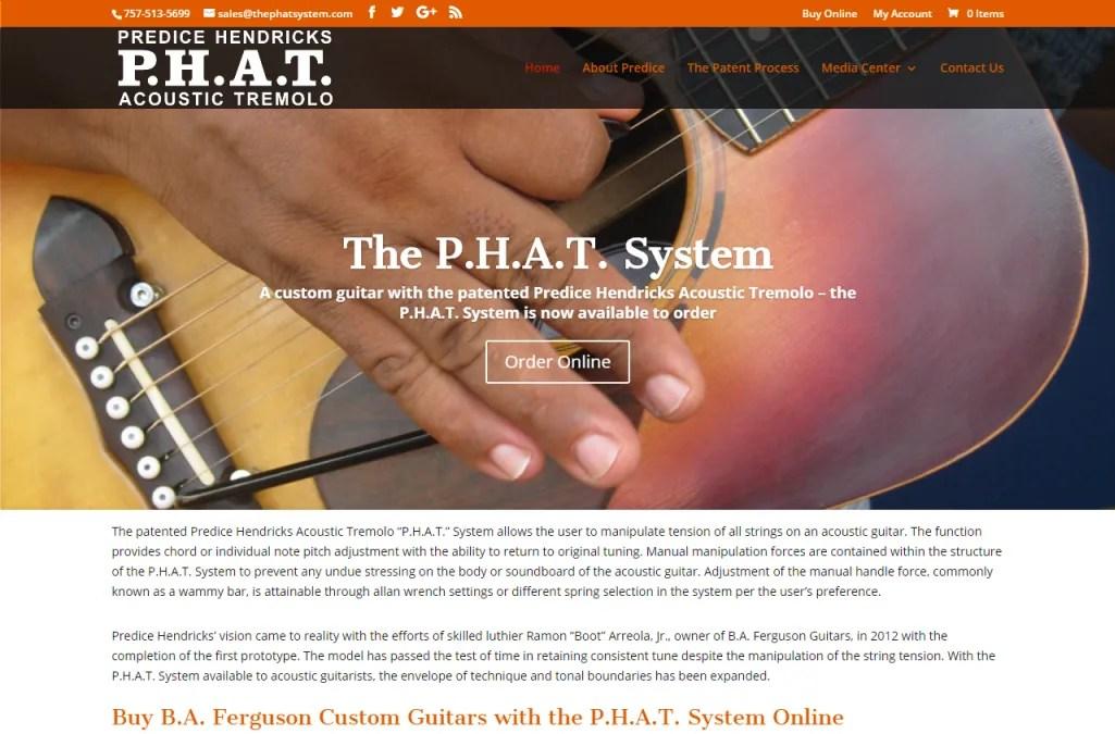 Octane Online Marketing Web Site Design