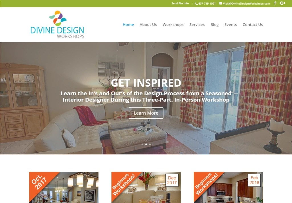 Octane Online Marketing Web Site Design