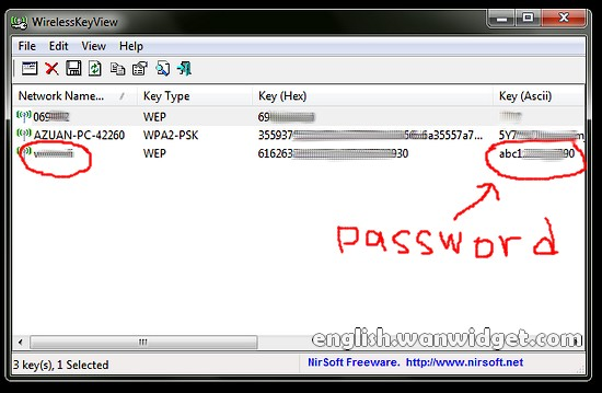 Recover Wifi Password - Recover My WiFi Password