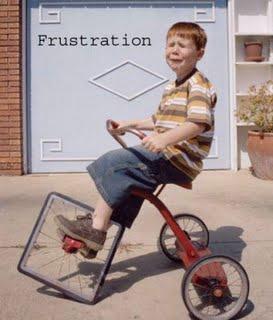 Frustration-redhead