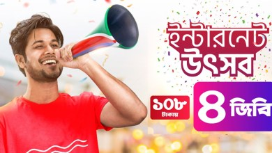 Robi 4GB Internet 108Tk (7 day) | Robi 108Tk 4GB Internet | Robi Offer