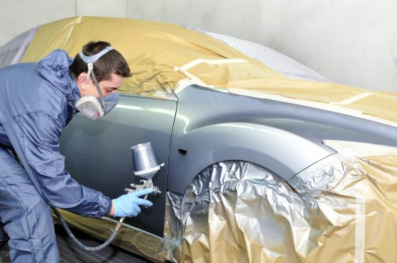 painting process of car