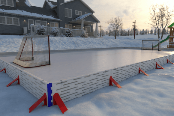 Build-the-Frame-of-Backyard-Ice-Rink