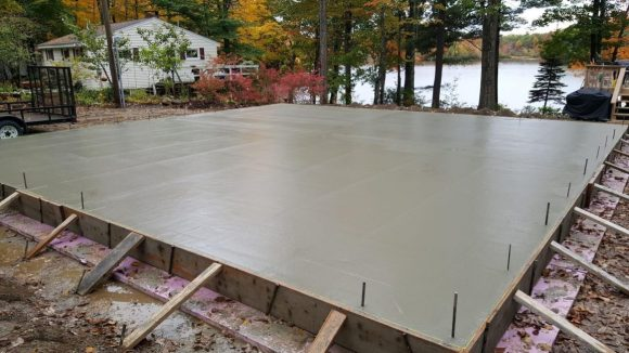 How-to-Pour-Concrete-Slab-for-Shed