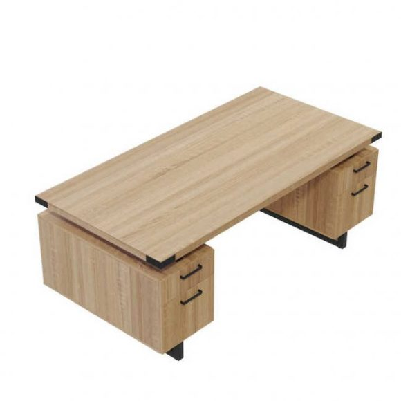 Plywood-Desk-with-Drawers