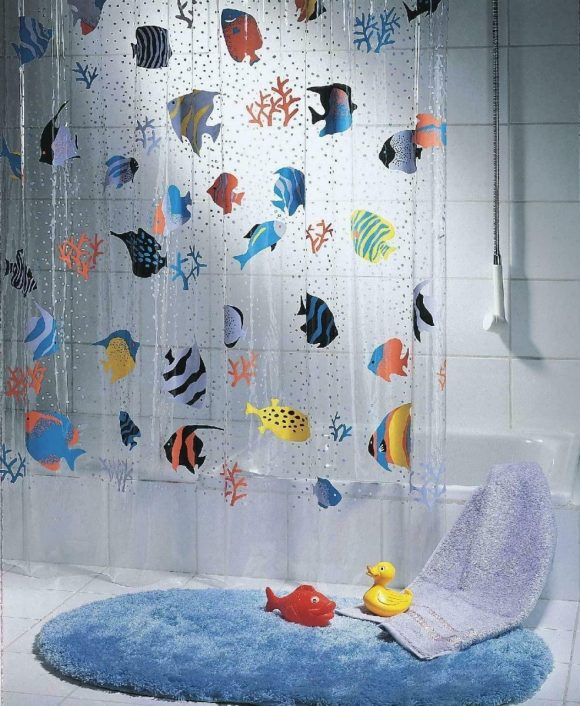 Fishy-Curtain-for-Shower-Area