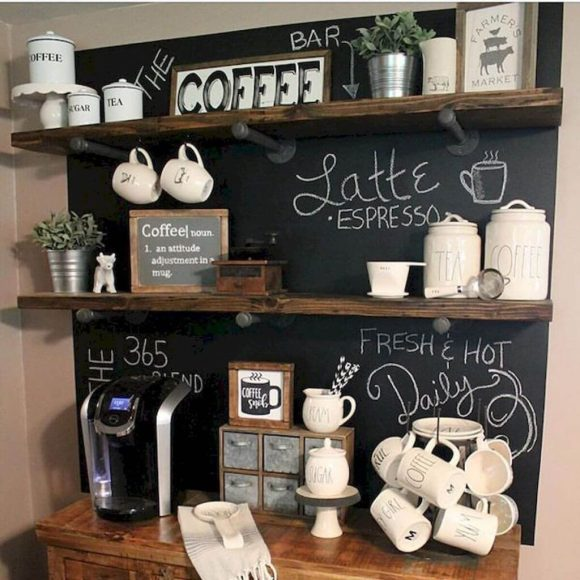 coffee-station-Rustic-Charm-in-Coffee-Station-At-Home
