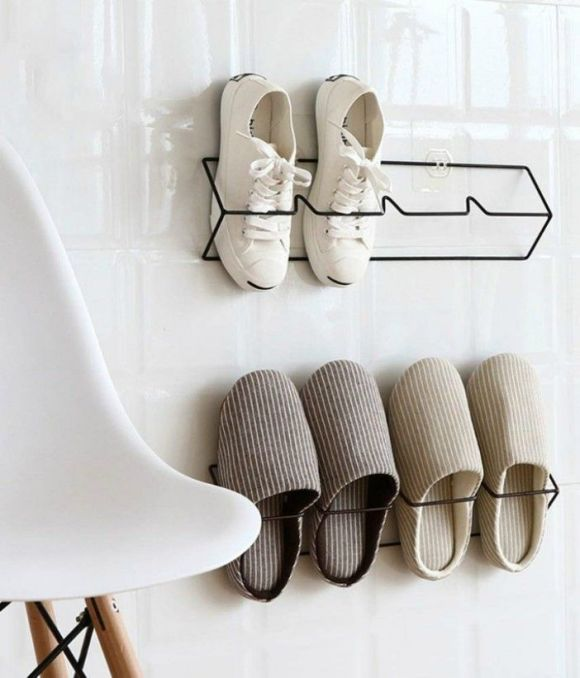 Wire Shoe Holder