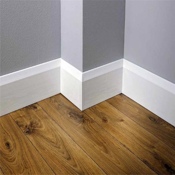 After Cleaning Baseboard