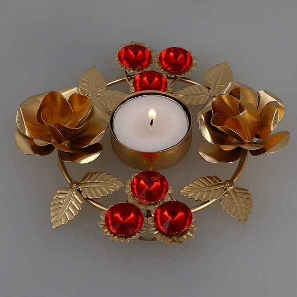 Decorative Candles with Jewelry Patterns