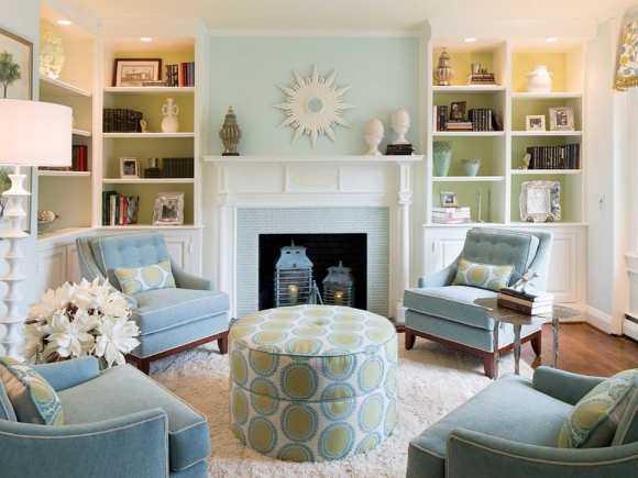 Ocean Decor with Blue and Green Combo