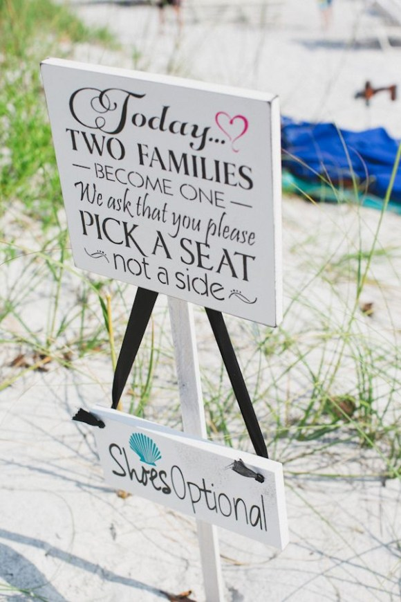 Relieving Beach Signs