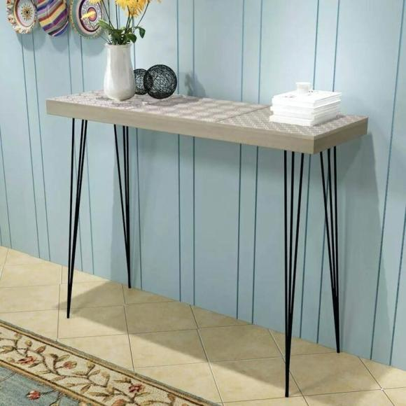 Small Side Entry Table