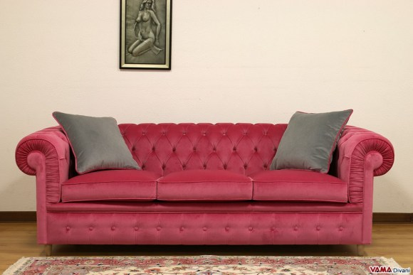 Red Chalk Painted Upholstery