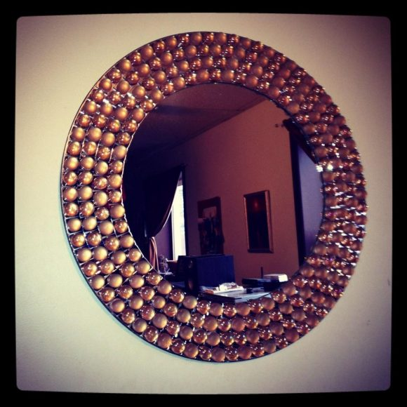 Bubble Entryway Mirror