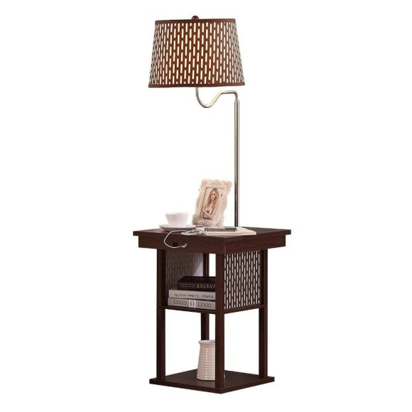 Table Attached Living Room Lamps