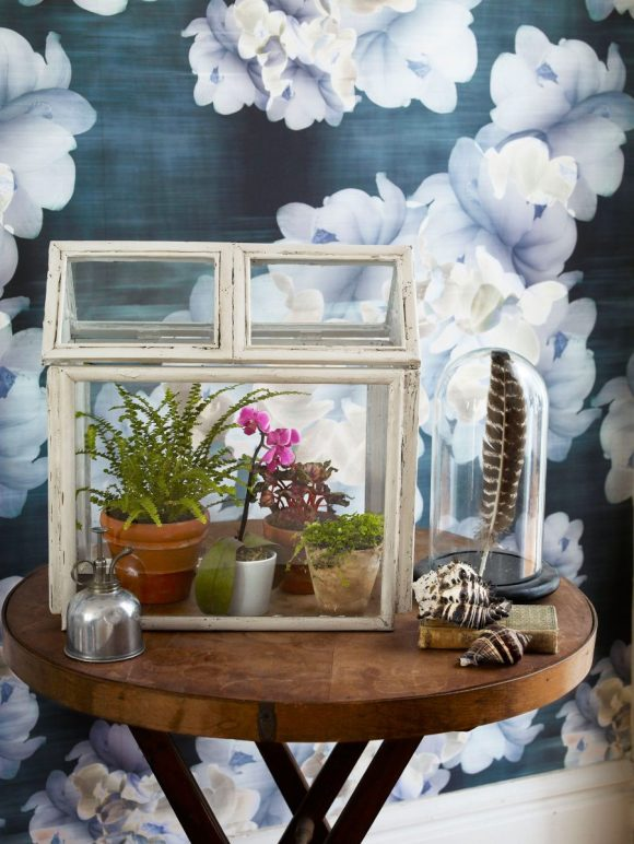 Old Picture Frame Mini Green House
