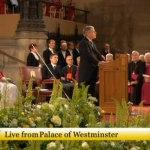 El speaker de los Comunes da la bienvenida al Papa