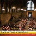 El palacio de Westminster ante el Papa