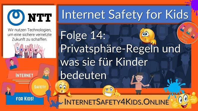 Internet Safety for Kids Folge 14 - Privatsphäre-Regeln und was sie für Kinder bedeuten