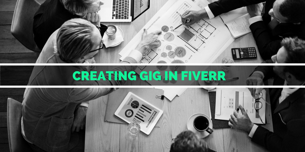 how to create a gig on fiverr app