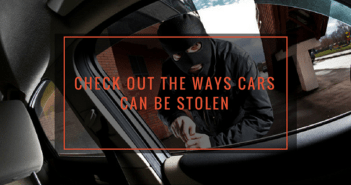 Check out the ways cars can be stolen