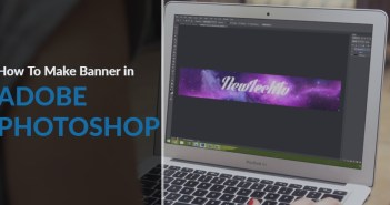 make banner in photoshop