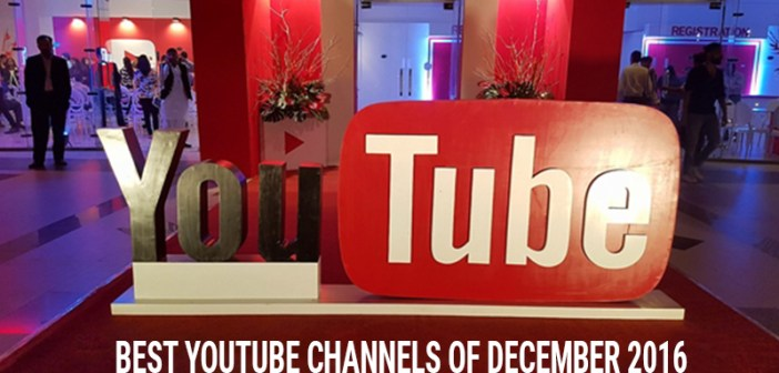 Best YouTube Channels of December 2016