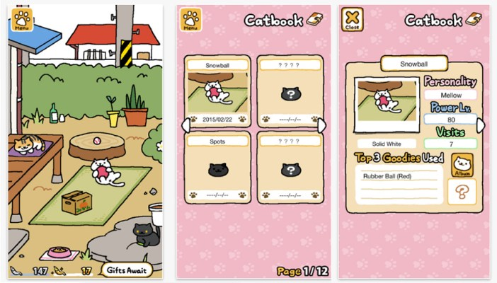 Neko Atsume:Kitty Collector