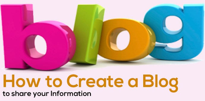 How to create a blog to share your information