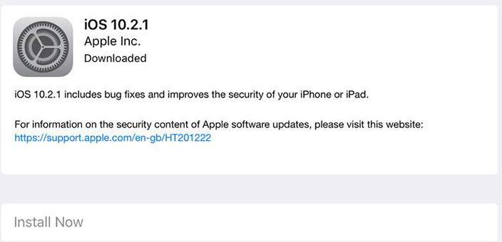 Keep iOS System Up to Date
