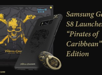 "Samsung Galaxy S8 Launches ""Pirates of Caribbean"" Edition"