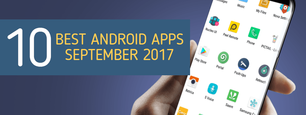 Top Android Apps September 2017