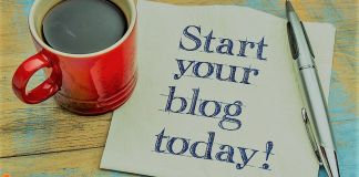 FOUR STEPS TO GET STARTED BLOGGING IN 10 MINUTES