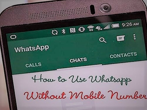 use your whatsapp without-using-your-phone-number
