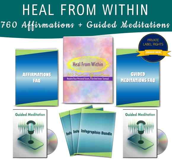 Healing Affirmations PLR