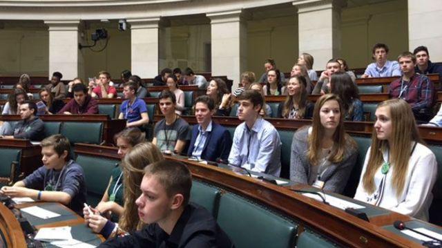 Jongerenparlement Privacycommissie 2016