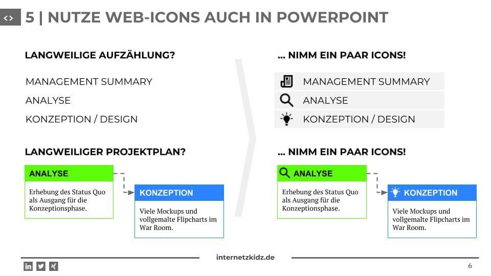 Web Icons Powerpoint