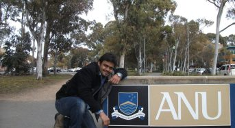 Internship Experience of Ankur Sharma : Australian National University, Canberra at the College of Engineering and Computer Sciences, Nanotechnology Section