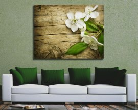 Stampa su tela -profumati fiori di ciliegio