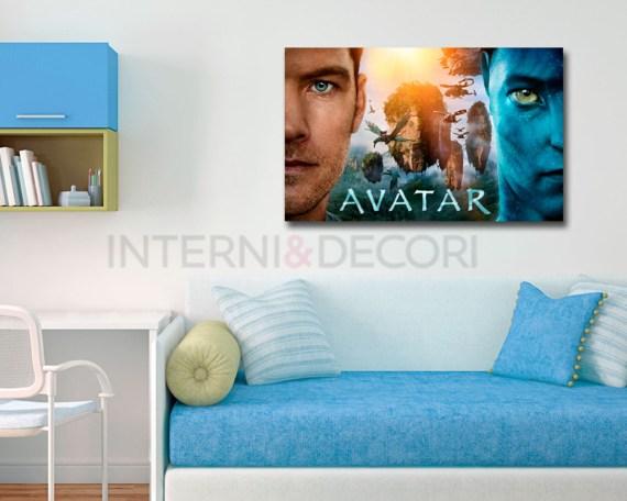 stampa su tela-avatar movie