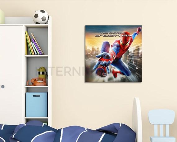 stampa su tela-the amazing spiderman